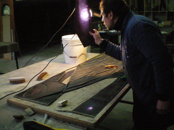 vetrate artistiche restauro