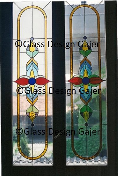 Vetrate artistiche glass design di massimo gajer for Vetrate artistiche per porte interne